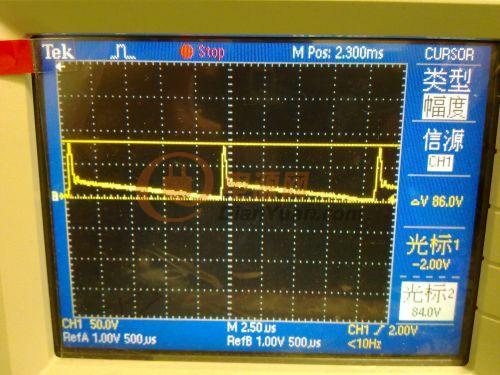 关于反激变压器初级rcd吸收的波形.-电源网