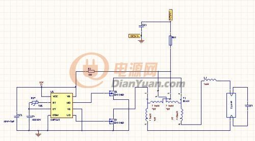 直流逆变电子镇流器t836w灯管出现滚环是什么问题?