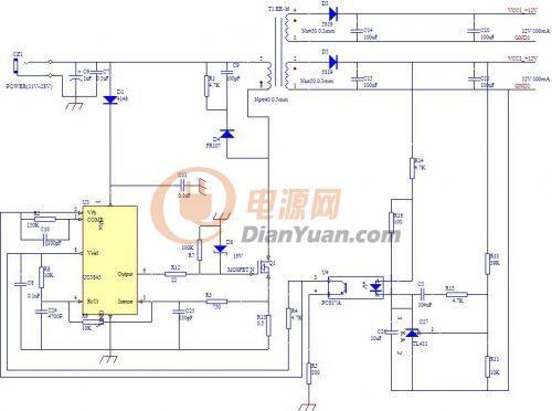 电路 电路图 电子 原理图 500_372图片
