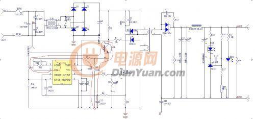 请教uc3843电压反馈问题-电源网