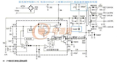电路 电路图 电子 原理图 500_269图片
