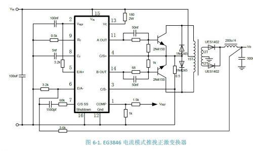 原厂eg3846电流模式pwm