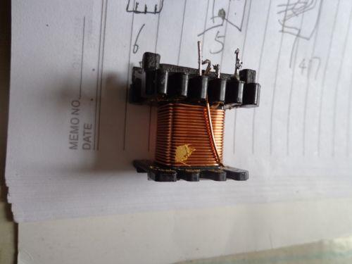 如题变压器绕法是电脑电源绕法