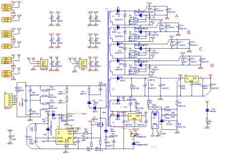 反激电路和波形实例分析图片