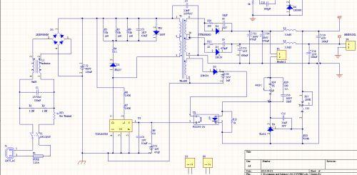 开关电源-反激变压器-top249yn
